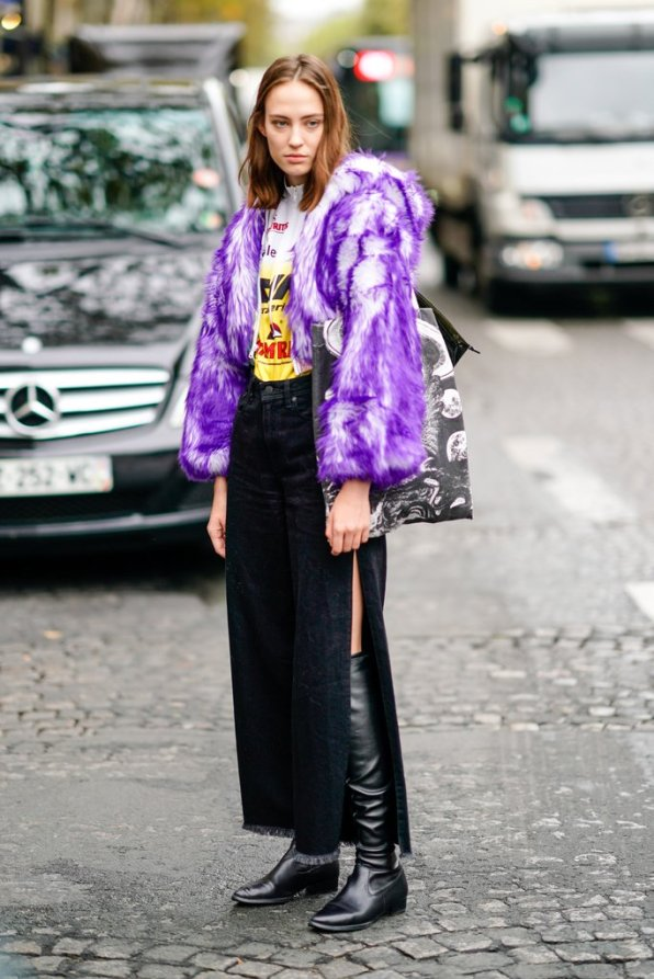 Cover-Up-Furry-Purple-Coat-Completely-Unexpected