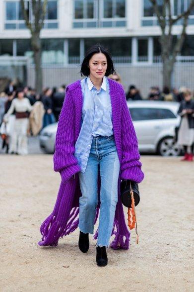 Drape-Yourself-Oversize-Purple-Cardigan